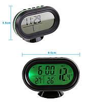 Часы-термометр-вольтметр VST - 7009V