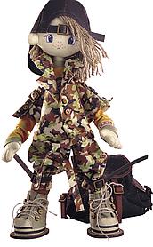 """Набор для шитья игрушек (текстильная каркасная кукла) """"Сафари. Брат 2"""""""