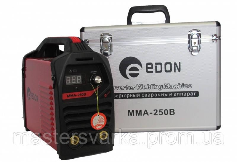 Сварочный инвертор Edon ММА 250В в кейсе