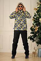 Мужской зимний костюм лыжный