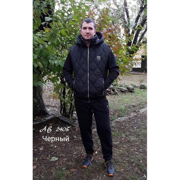 Мужской теплый спортивный костюм тройка (2 цвета) - IBERIS в Харькове 28f271ba537