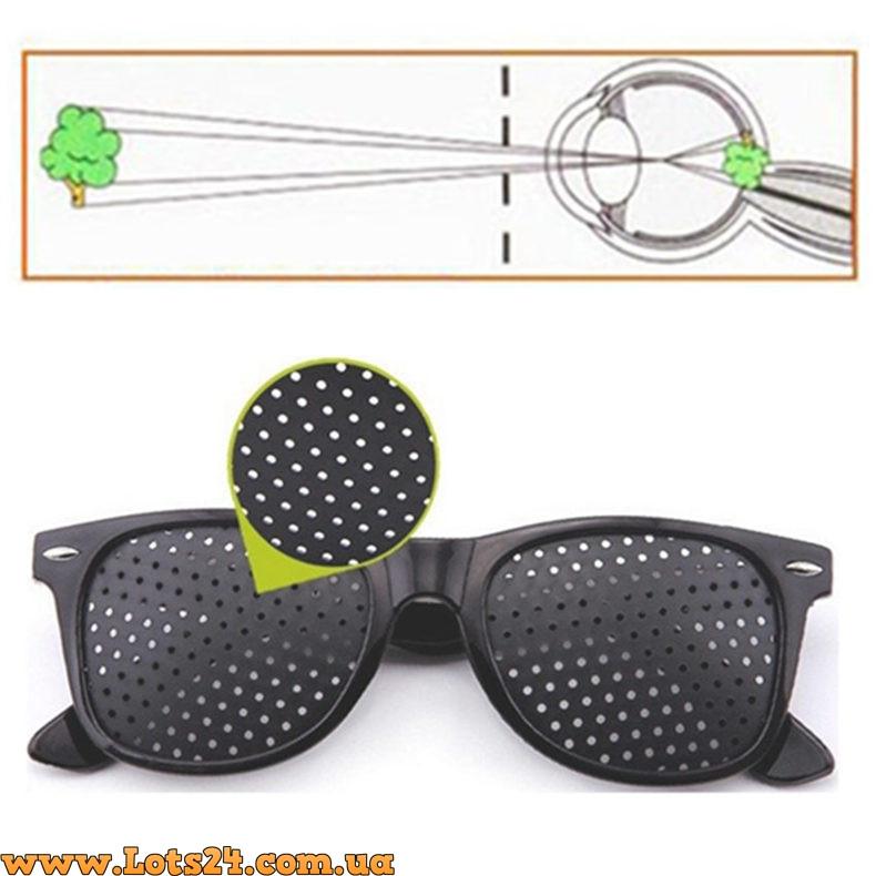 Помогают ли очки в дырочку для улучшения зрения? | в поле зрения.