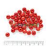 Бусины стеклянные круглые 10 мм, 50 г, КРАСНЫЕ, Crystal Art