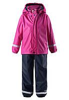 Комплект детский для дождливой погоды на флисовой подкладке для девочки Reima Joki 523108