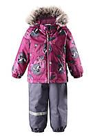 Зимний детский комплект для девочки Lassie 713714