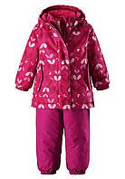 Комплект зимний (куртка + брюки на подтяжках) для девочки Reima Ohra 513110