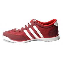 Кроссовки в стиле Adidas SL Red / White, фото 2