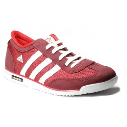 Кроссовки в стиле Adidas SL Red / White