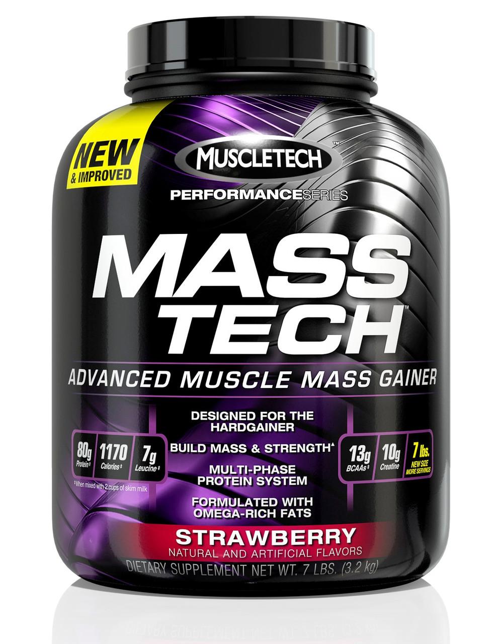 MuscleTech Mass Tech Performance 3,2 kg МасклТеч Масс Теч Перфоменс 3,2 кг