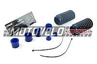 Ремкомплект вилки Yamaha JOG 50 (диск) (шток Ø25.0mm) (+гофры, хомуты) AS