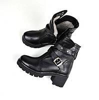Ботиночки зимние с ремешком