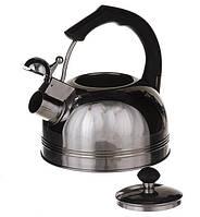 Чайник на 2,5л.Нержавеющая сталь А плюс (1324)