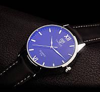Мужские наручные часы Yazole Черный, Черный