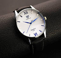 Мужские наручные часы Yazole Черный, Белый