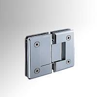 Петля для душевой кабины стекло-стекло HDL-303 180 градусов