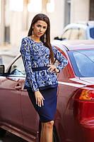 Женский костюм (42, 44, 46)  — Костюмка от компании Discounter.top