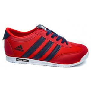 Кроссовки в стиле Adidas SL Red / Dark Blue, фото 2