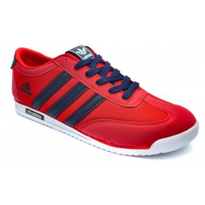 Кроссовки в стиле Adidas SL Red / Dark Blue