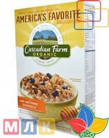 Cascadian Farm Органическая гранола из овсяной крупы с медом, 16 унций, 453 г