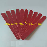 Одноразовые пилки для маникюра 180/240 длина 15см (уп 10шт)