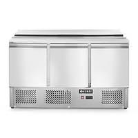 Стол холодильный (саладетта) с откидной крышкой, 3-дверный, 232811 Hendi