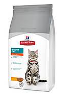 Hills Science Plan Feline Adult Indoor 1,5кг -корм для кошек,живущих в помещении  (7524)