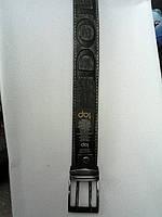 Ремень DOLCE & GABBANA мужской джинсовый кожзам