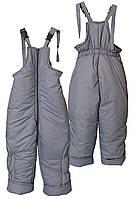 Детские зимние полукомбинезоны брюки от 2 до 7 лет