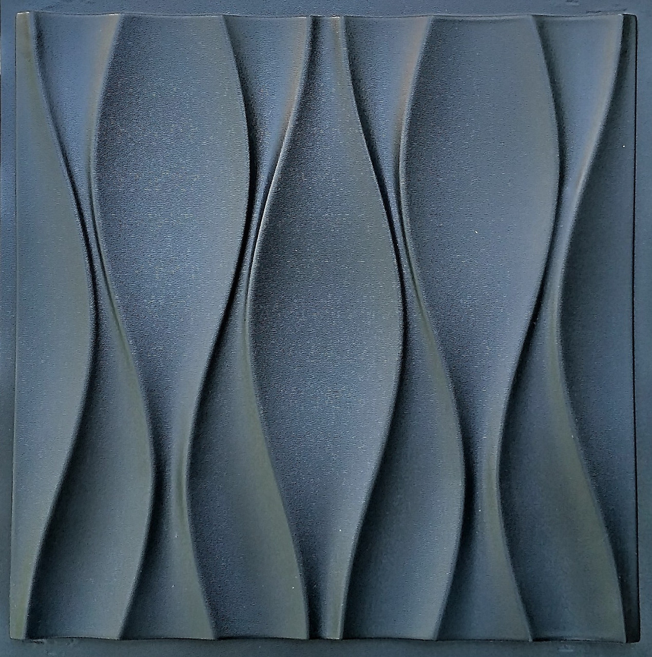 "Пластиковая форма для 3d панелей ""Бутоны"" 50*50 (форма для 3д панелей из абс пластика)"
