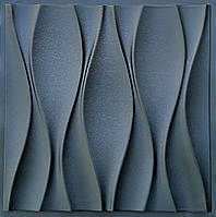 "Пластиковая форма для 3d панелей ""Бутоны"" 50*50 (форма для 3д панелей из абс пластика), фото 1"