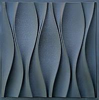 """Пластикова форма для 3d панелей """"Бутони"""" 50*50 (форма для 3д панелей з абс пластику)"""