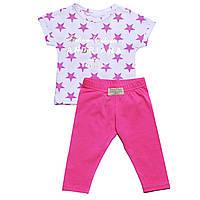 Костюм Andriana Kids для девочки с розовыми штанами 6,9,12 мес