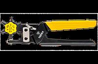 Револьверный дырокол пробойник для кожи картона  Topex 240 мм