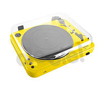 Проигрыватель виниловых пластинок Lenco L-85 (желтый)