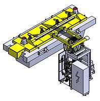 Оборудование системы газовоздухоснабжения стендов сушки и разогрева промковшей