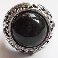 Кольцо перстень под черненное серебро. Размеры 17, 18, 19.