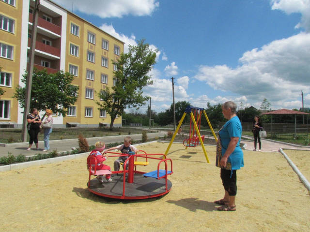 Детские уличные комплексы 9