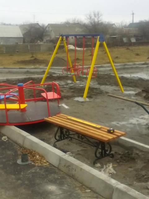 Детские уличные комплексы 4