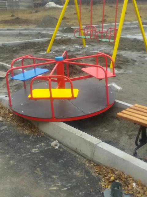 Детские уличные комплексы 5
