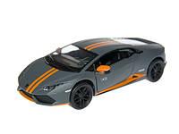 """Модель легковая 5"""" Lamborghini Huracan LP610-4 Avio matte метал.инерц.открыв.дв. ()"""