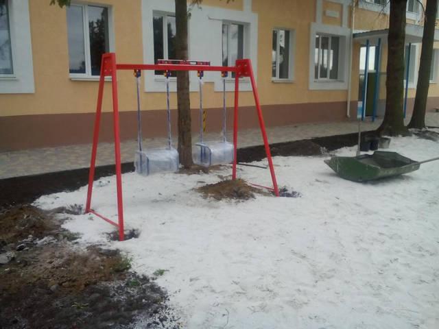 Детские уличные комплексы 11