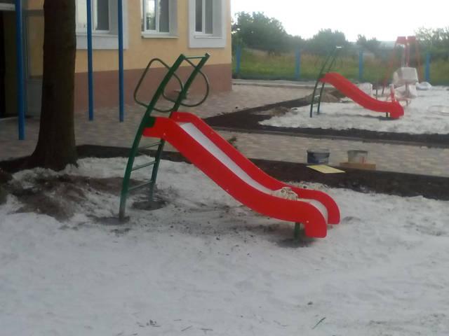 Детские уличные комплексы 12
