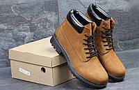 Зимние ботинки Timberland (рыжие) (3515)