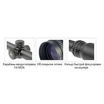 Прицел оптический Hawke Sport HD 2-7x32 AO (Mil Dot), фото 2