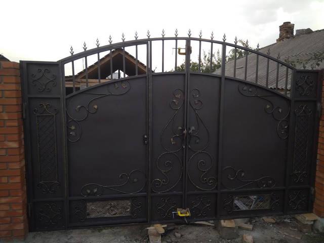 Запущено собственное производство металлоконструкций для дома и сада из кованных элементов