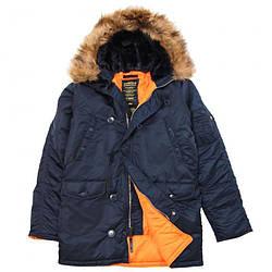 Куртка Alpha Industries (Аляска) N3-B Parka Синий