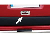 Накладка на заднюю ручку с рамкой Citroen Berlingo 1996-2007 (нержавеющая сталь)