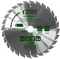 Диск пильный по дереву с твердосплавными напайками 200х32(30;25.4)х60T Grad Sigma Код:364283554