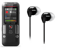 Диктофон Philips DVT2510 + наушники SHE3590