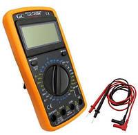 Цифровой мультиметр DT9205A (тестер, Омметр, Амперметр, Сопротивление, Емкость
